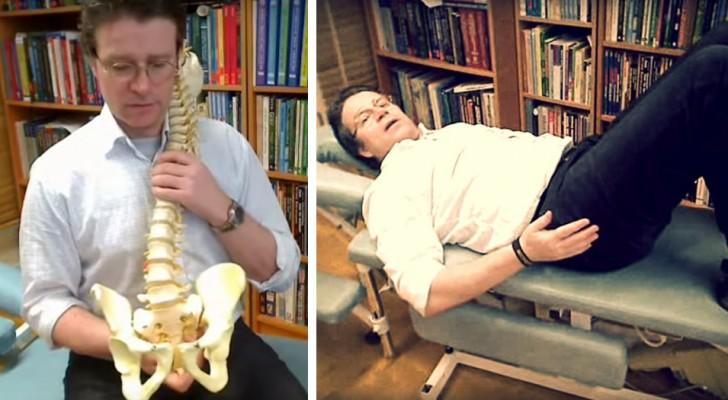 Stört dich dein Rückenschmerz? Mit dieser einfachen Übung könntest du dich von ihm verabschieden