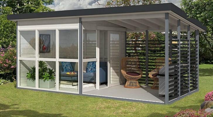 Amazon ha messo in vendita un kit per una casetta da giardino che puoi montare in 8 ore