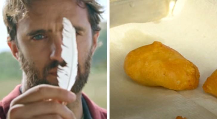 Un'azienda produce gustose pepite di pollo partendo dalle cellule contenute in una piuma: presto saranno sul mercato