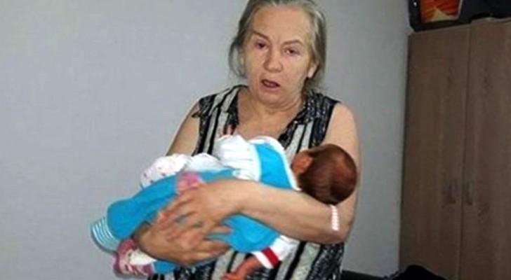 Da a luz a la edad de 60 años, pero el marido decide de abandonarla luego de haber conocido a la niña