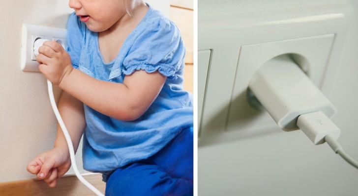 Uma menina de dois anos perdeu a vida mordendo o carregador de bateria do celular da sua mãe