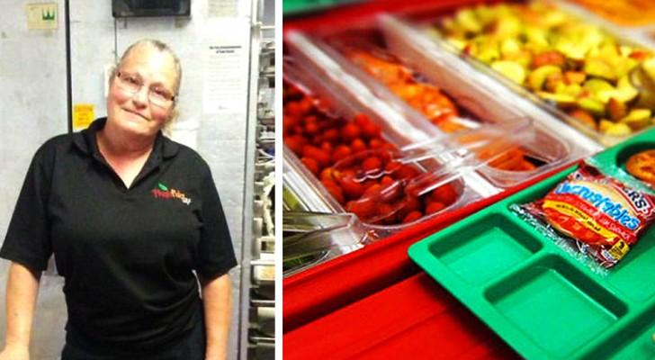 Une serveuse a été congédiée pour avoir servi un repas à un élève qui n'avait pas assez d'argent