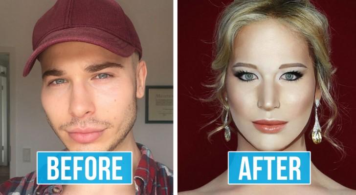 Questo mago del make-up può diventare praticamente CHIUNQUE: le sue trasformazioni sono eccezionali