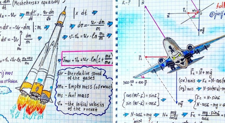 Ce professeur de physique transforme des formules en art... et le résultat donne envie de retourner à l'école