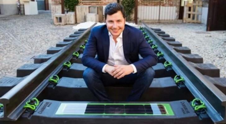 Un entrepreneur italien dépose un brevet sur des voies ferrées produisant de l'énergie à partir de pneus recyclés