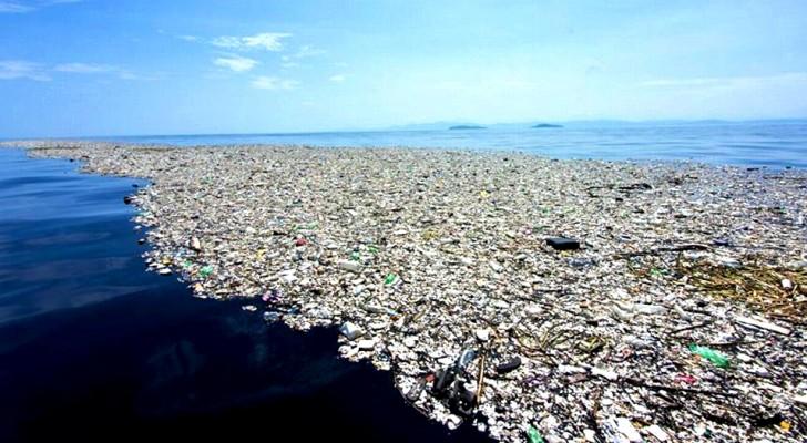 Anche l'Italia ha la sua Isola di Plastica:  si trova al largo tra l'Elba e la Corsica