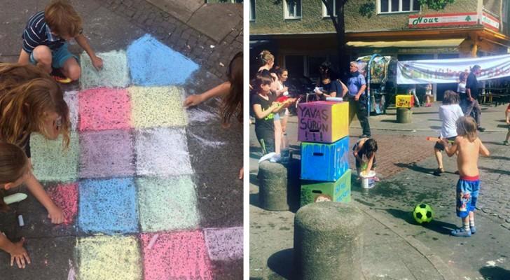 In questa città le strade vengono chiuse al traffico per far giocare i bambini e recuperare le attività perdute