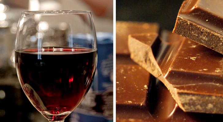 La recette pour vivre plus longtemps ? Un verre de vin et un morceau de chocolat par jour