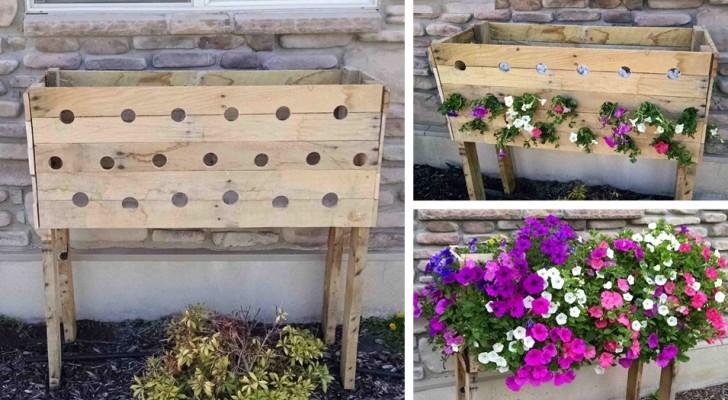 Ecco come creare passo passo questa meravigliosa fioriera fai-da-te. Ne parlerà tutto il quartiere!