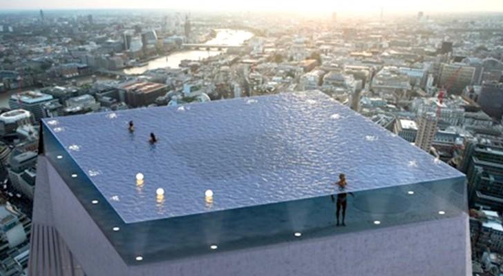 A Londra la prima piscina