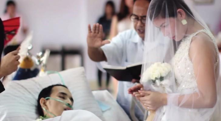 Casarse 10 horas antes de morir fue su ultimo deseo