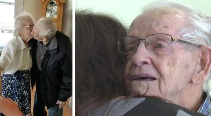Efter 69-års äktenskap tvingar ett ålderdomshem ett äldre par att dela på sig