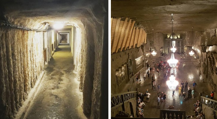 Cette ancienne mine de sel cache une cathédrale souterraine d'une incomparable beauté