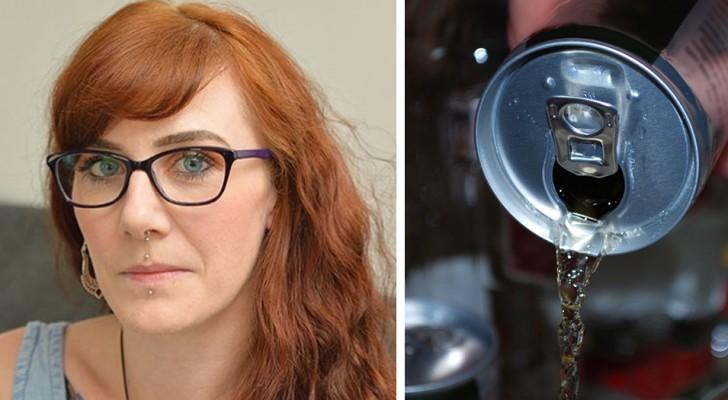 Een 32-jarige moeder met een pacemaker beweert jarenlang 6 energie-drankjes per dag te hebben gedronken