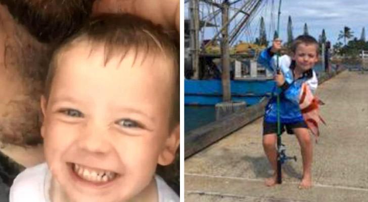 Questo bambino di 7 anni ha trascorso 6 ore in balia dell'oceano: il suo salvataggio è un miracolo