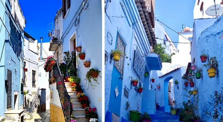 In Puglia c'è una meravigliosa cittadina blu che pochi conoscono: eccola in tutto il suo fascino orientaleggiante