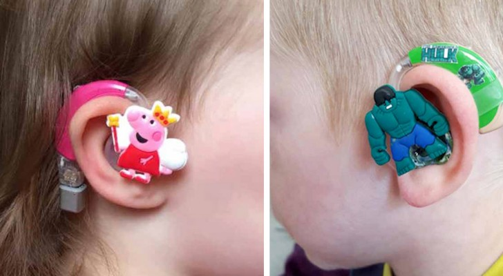This mom has created special hearing aids to help children feel more confident