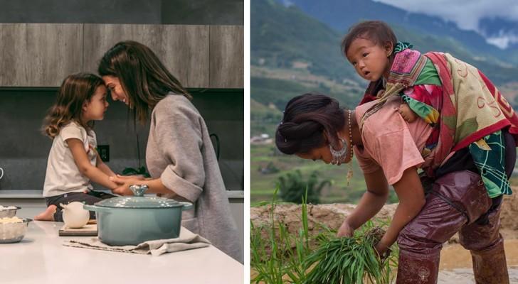 Diese 15 Fotos aus aller Welt zeigen, dass es ein wunderbares Abenteuer ist, Mutter zu sein