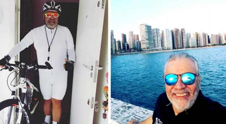 Il arrête de fumer après de nombreuses années : avec l'argent qu'il économise, il commence à voyager autour du monde