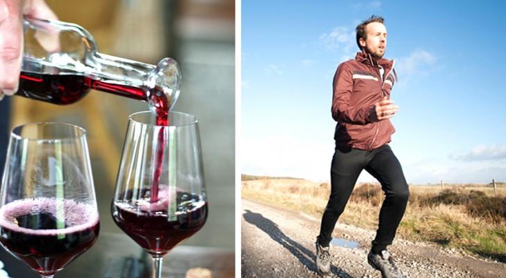 Bere una moderata quantità di vino fa bene alla salute quanto l'esercizio fisico: uno studio spiega il perché