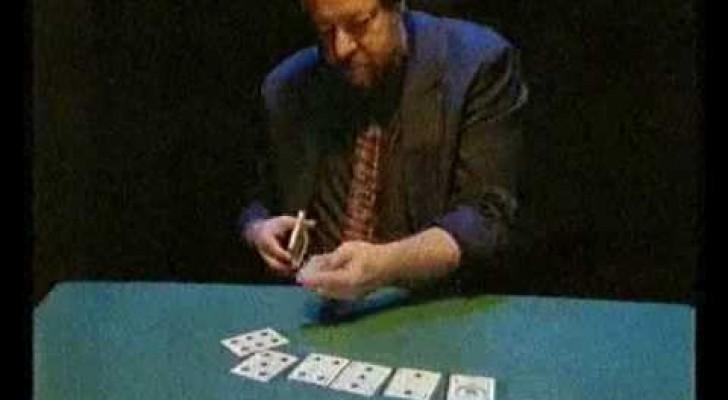 Un trucco con le carte che non riuscirete a spiegarvi