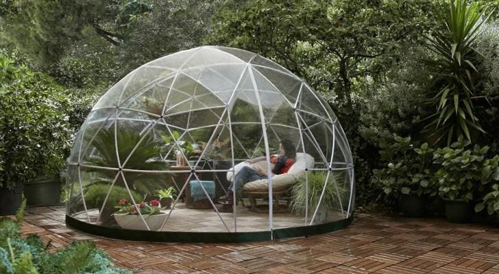 Amazon a mis en vente un fabuleux dôme de jardin, pour créer votre coin de paradis personnel
