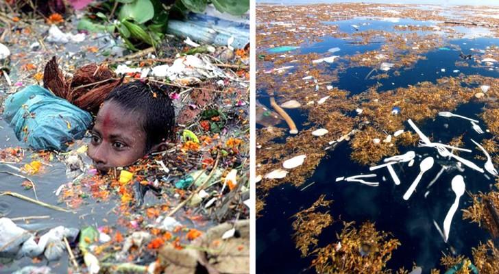 Inquinamento senza controllo: ecco 12 foto terrificanti che andrebbero proiettate nelle scuole