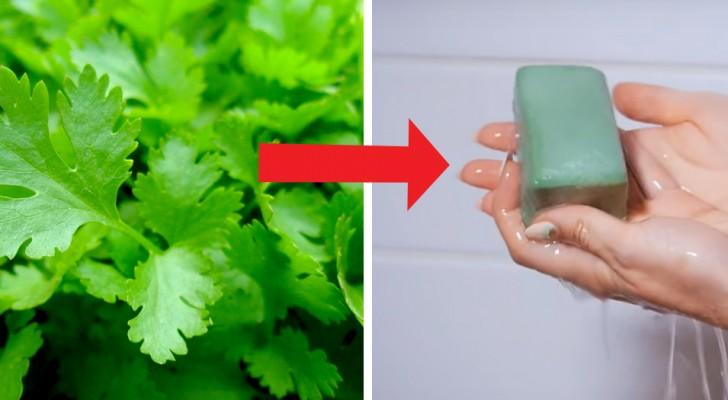 El jabón de perejil es la solución perfecta para las manchas sobre el rostro