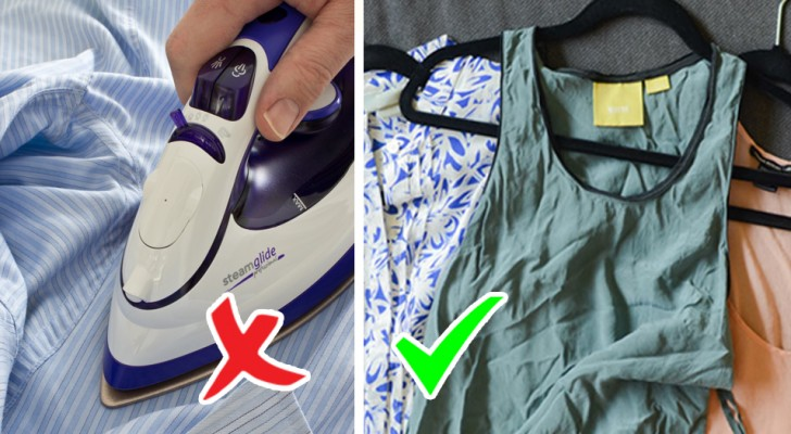Wearing clothes without ironing them?! This is a new campaign to protect the environment. Goodbye to ironing!