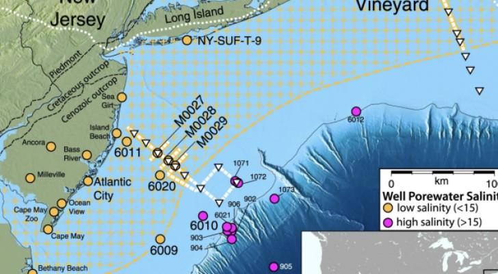 USA: scoperta la più grande riserva di acqua dolce