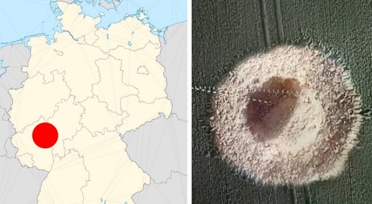 Een bom van de Tweede Wereldoorlog explodeerde zonder waarschuwing midden in een veld in Duitsland