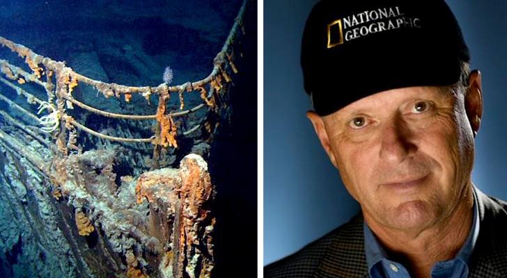 L'extraordinaire histoire de Robert Ballard, l'homme qui a photographié le Titanic au fond de l'océan
