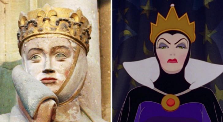 Uta van Naumburg, dit is het historische personage waar de boze koningin van Sneeuwwitje op is geïnspireerd
