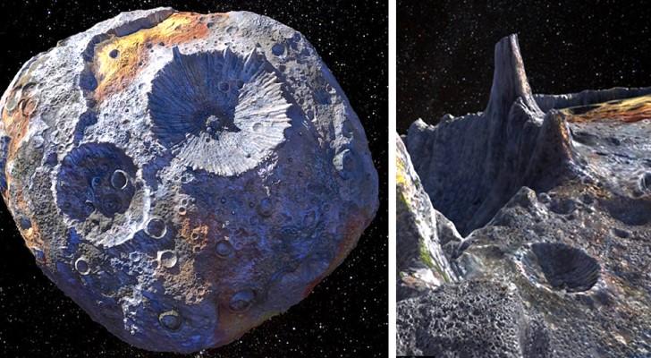 La NASA a découvert un astéroïde si rempli d'or qu'il pourrait bouleverser notre économie