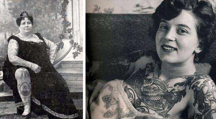 Tatouages à l'époque victorienne : les images de certaines femmes représentées dans toute leur splendeur