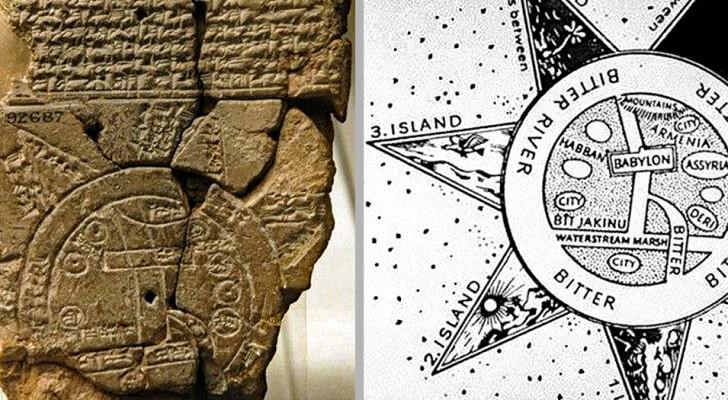 Ecco a voi la mappa geografica più antica della storia: ha 2600 anni e viene dalla Mesopotamia