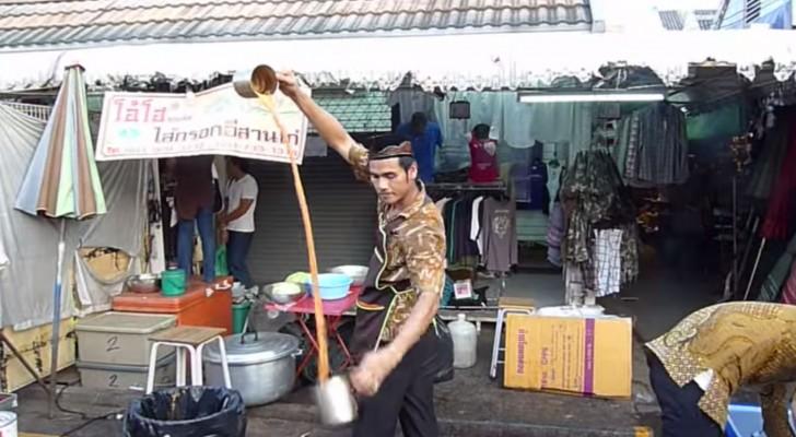 A Bangkok per gustare un Tè potresti imbatterti in questo spettacolo
