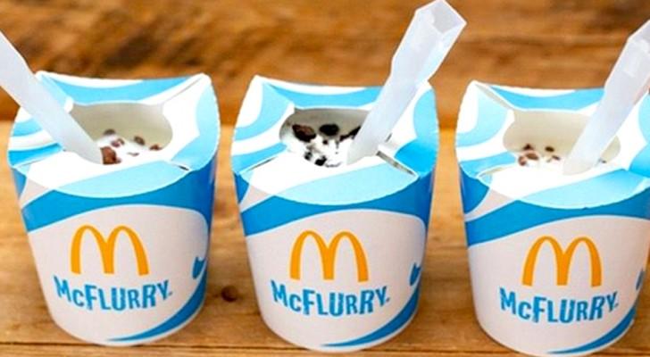 Lutte contre le plastique : Mc Donald's remplace le pot du célèbre Mc Flurry par un contenant écologique
