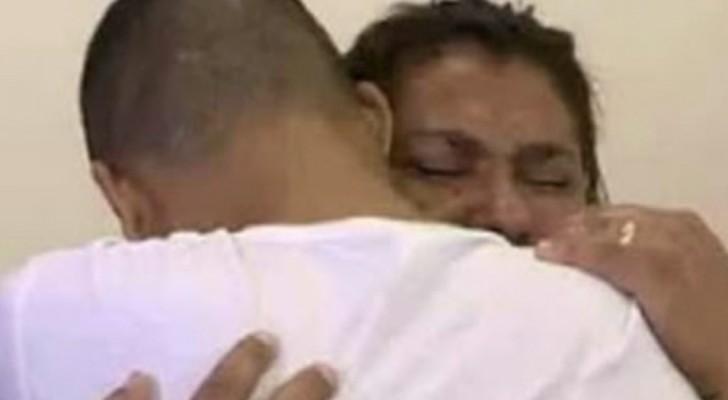 Whatsapp doet het niet: een zoon ontmoette zijn moeder die in hetzelfde huis woont