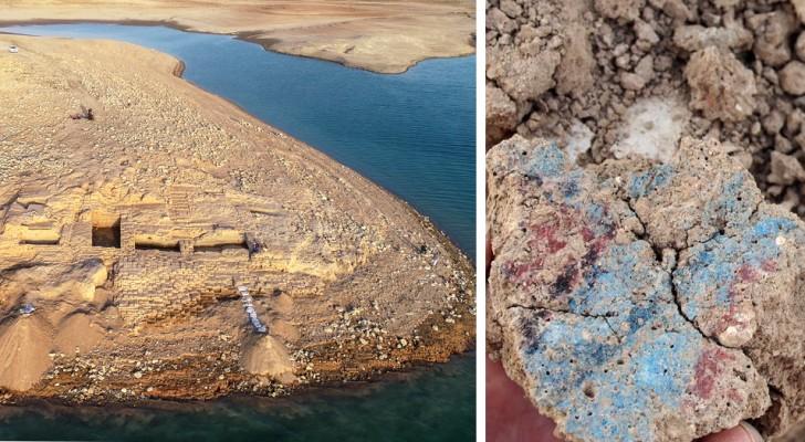 Droogte brengt een mysterieus gebouw van 3.400 jaar geleden aan het licht