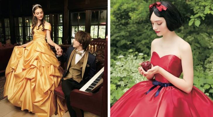 Disney har lanserat en bröllopskollektion som hämtar inspiration från deras prinsessor för ett äkta sagobröllop!