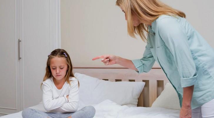 Le mamme si arrabbiano molto di più con i figli nei quali vedono un riflesso di se stesse. È come se parlassero allo specchio!
