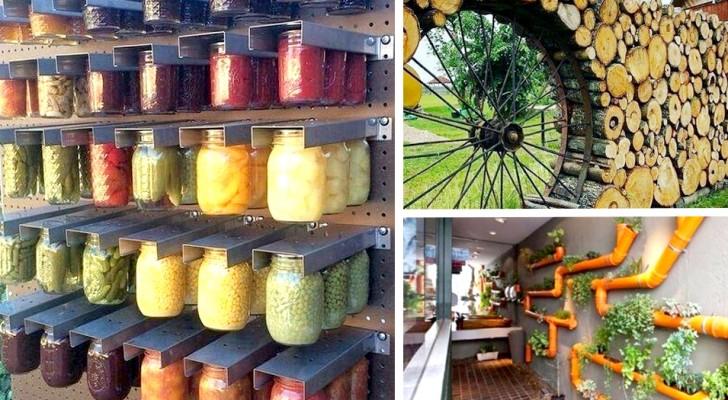 Avete voglia di rinnovare il vostro giardino? Queste idee fantasiose potrebbero fare al caso vostro!