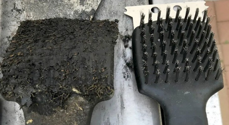 A boy accidentally ingests a bristle from a barbecue grill cleaning brush and now doctors do not recommend this tool for home use!