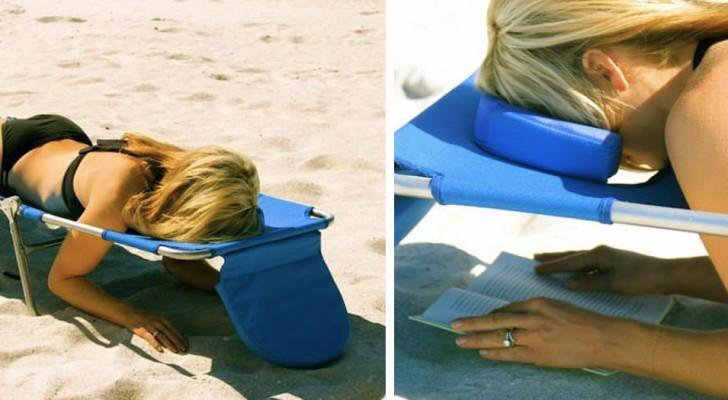 Amazon hat ein Strandbett zum Verkauf angeboten, das speziell für Buchliebhaber entwickelt wurde