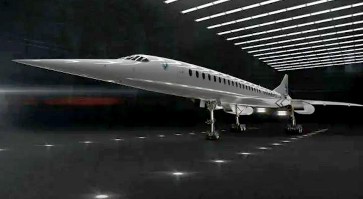 Ouverture komt eraan, het supersonische vliegtuig dat Londen in minder dan 4 uur met New York kan verbinden