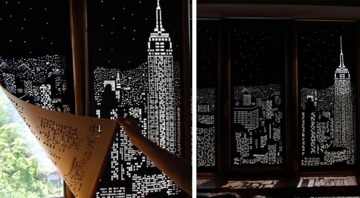 Diese Vorhänge verwandeln Ihre Fenster in spektakuläre Skylines der berühmtesten Städte der Welt