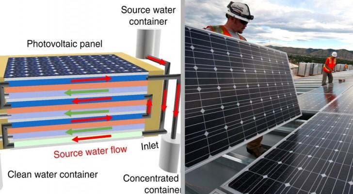 Cette brillante génération de panneaux solaires peut produire de l'électricité et de l'eau propre pour des millions de personnes