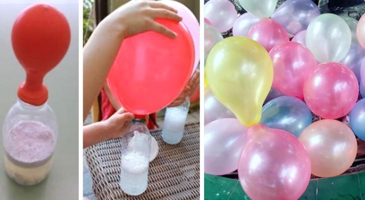 Come gonfiare i palloncini senza fare nessuna fatica e senza usare l'elio