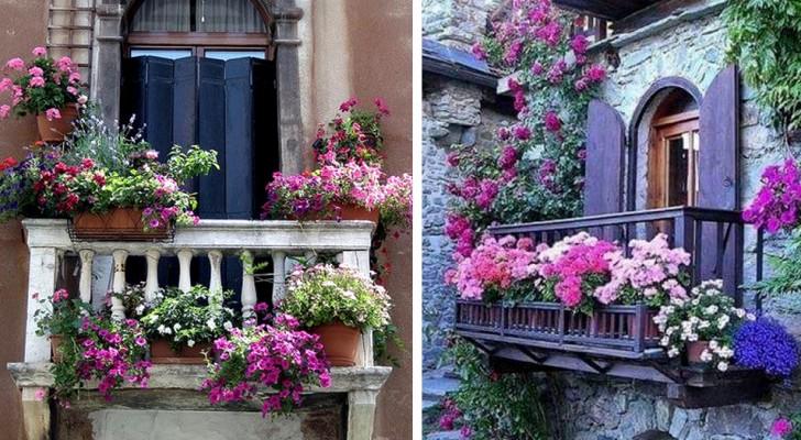 17 meravigliosi balconi di stili diversi che ti faranno venire voglia di rinnovare il tuo